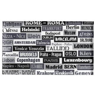 European Traveler table card holder