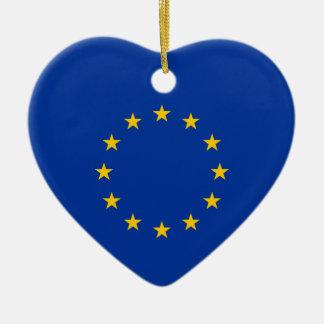 European Union - EU Flag Christmas Tree Ornaments