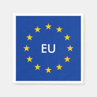 European Union EU flag paper party napkins Paper Napkin
