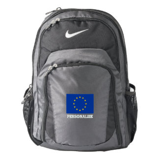 European Union EU flag personalized Backpack