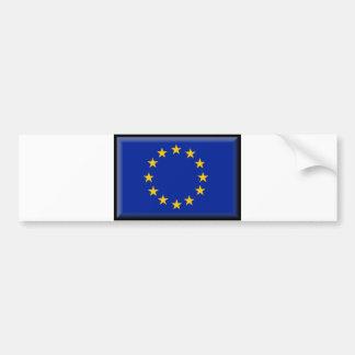 European Union Flag Bumper Sticker