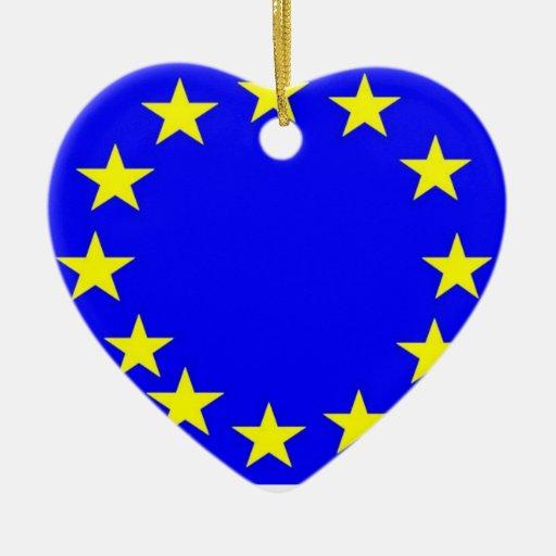 European Union Flag Christmas Ornament