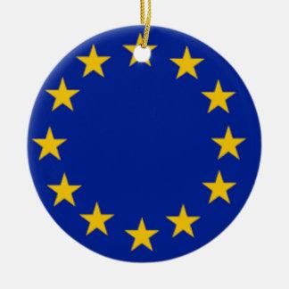 European Union Flag Christmas Tree Ornament