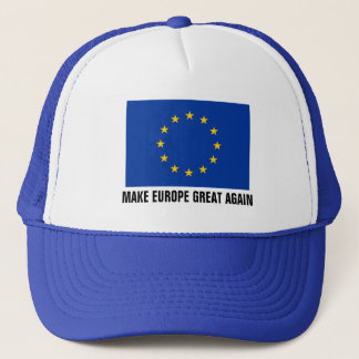 European Union flag hat | MAKE EUROPE GREAT AGAIN