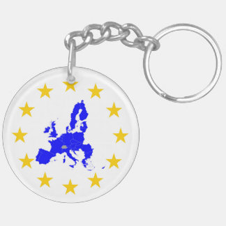European union key ring