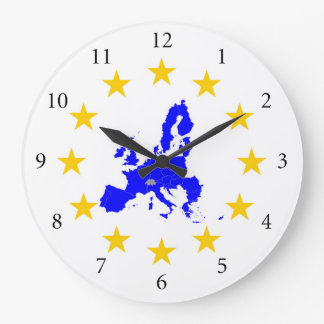 European union large clock