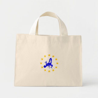European union mini tote bag