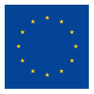 European Union Photo Sculpture Decoration