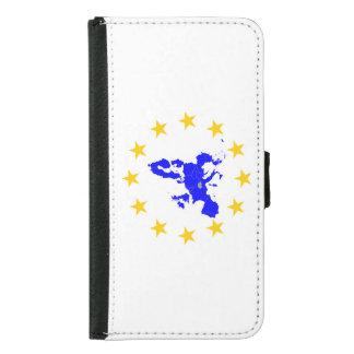 European union samsung galaxy s5 wallet case