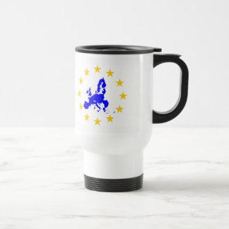 European union travel mug