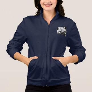 Europug Women's American Fleece Track Jacket