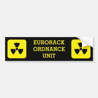 Eurorack Ordnance Unit Sticker Bumper Sticker