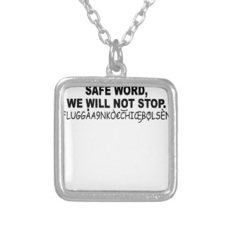 Eurotrip safe word shirt png necklaces