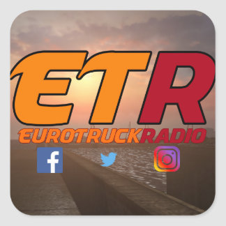 EuroTruckRadio Sticker Pack Design #1