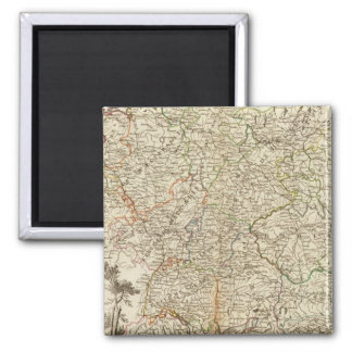 Eurupoe Postal Roads Fridge Magnet