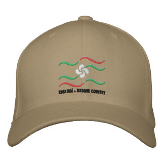 Euskadi - Basque Country 2 Embroidered Hat