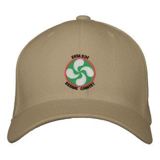 Euskadi - Basque Country - Lauburu Embroidered Hat