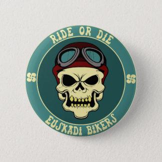 Euskadi bikers 6 cm round badge