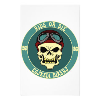 Euskadi bikers stationery
