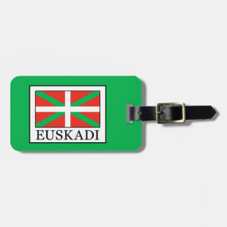 Euskadi Luggage Tag