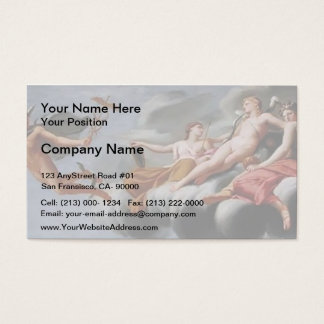 Eustache Sueur- Cupid Ordering Mercury Business Card
