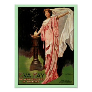 Eva Fay ~The High Priestess of Mysticism Poster