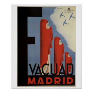 Evacuate Madrid (1937)_Propaganda Poster