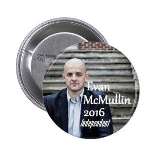 Evan McMULLIN 2016 Button