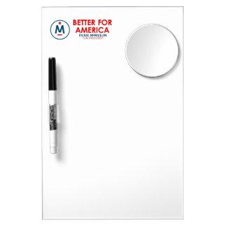 Evan McMullin - Better for America Dry-Erase Whiteboard