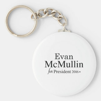 Evan McMullin For President Basic Round Button Key Ring