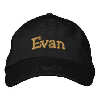 Evan Personalized Baseball Cap / Hat