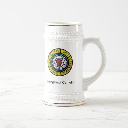 Evangelical Catholic Stein Coffee Mug