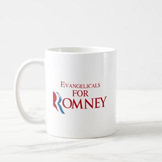 EVANGELICALS FOR ROMNEY.png Basic White Mug