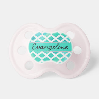 """""""Evangeline"""" Personalized Name Pacifiers"""