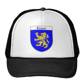 Evans Coat of Arms/Family Crest (Wales) Cap