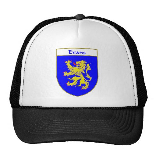 Evans Coat of Arms/Family Crest (Wales) Hat