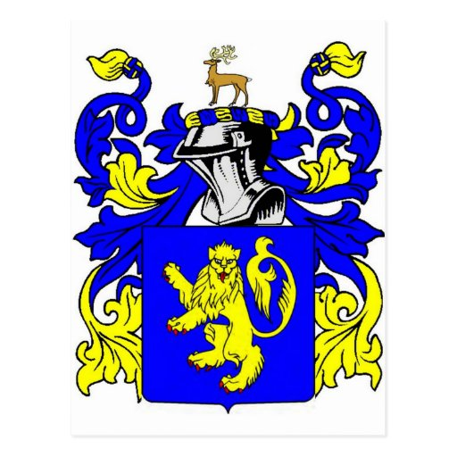 Evans Coat of Arms Post Cards