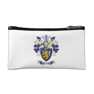 Evans Family Crest Coat of Arms Cosmetic Bag