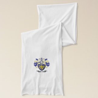Evans Family Crest Coat of Arms Scarf