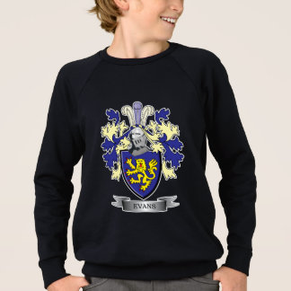 Evans Family Crest Coat of Arms Sweatshirt