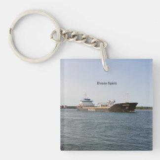 Evans Spirit acrylic key chain