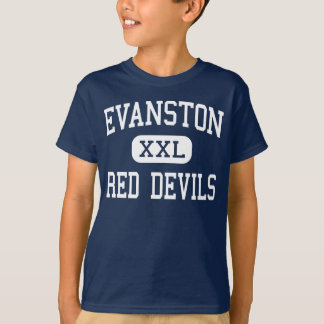 Evanston - Red Devils - High - Evanston Wyoming T-Shirt