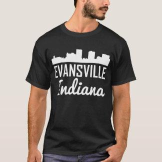 Evansville Indiana Skyline T-Shirt