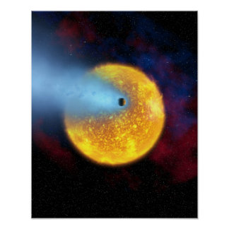 Evaporating Planet Poster