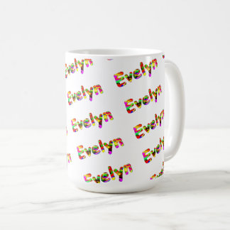 Evelyn Classic White Mug