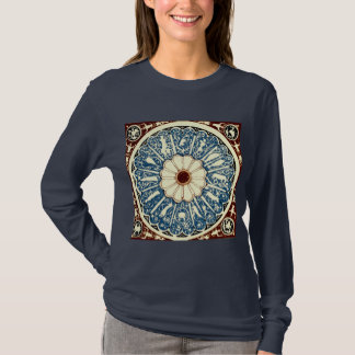 Evelyn Paul Antique Zodiac Mandala circle T-Shirt