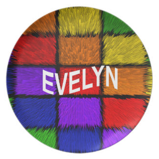 EVELYN PLATE