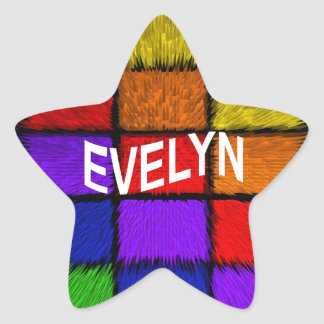 EVELYN STAR STICKER