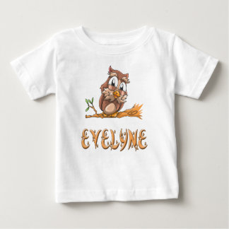 Evelyne Owl Baby T-Shirt
