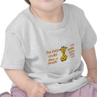 Even babies are cool Cool as giraffes T Shirt